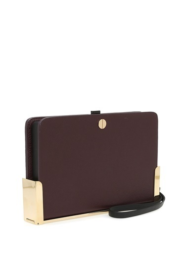 Estemporenea Clutch / El Çantası Bordo